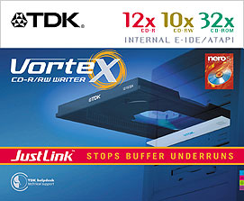 TDK Vortex Retail Package