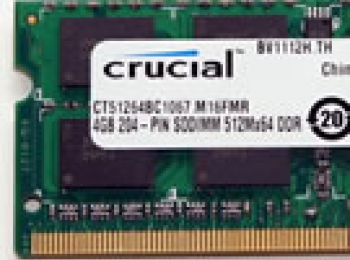 Crucial 4GB DDR3 SO-DIMM Memory kit