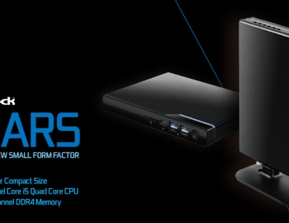ASRock Announces New Mars Mini PCs