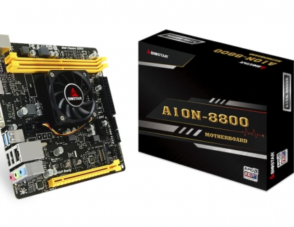 Biostar Releases the Updated A10N-8800E SoC Mini-ITX Motherboard