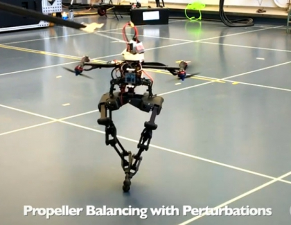 Caltech's LEONARDO is a Birdlike Robot That Floats on Two Legs