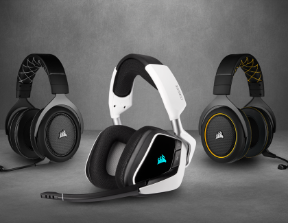 CORSAIR Updates Headset Lineup with New VOID ELITE and HS PRO Headsets