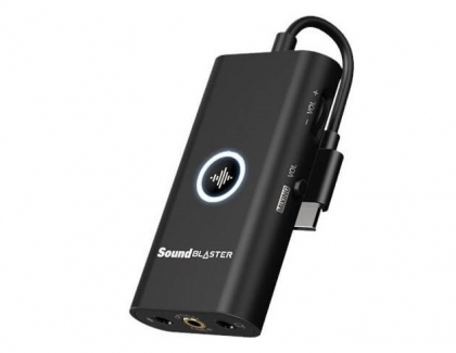 Creative Releases the Sound Blaster G3 USB DAC Amp for Gaming Consoles