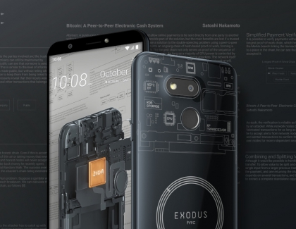 HTC Unveils the More Affordable Exodus 1s Cryptophone