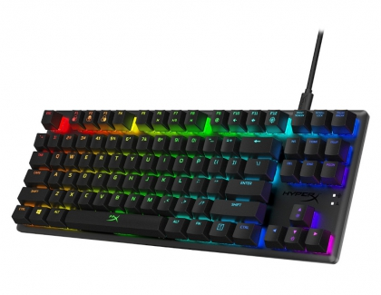 HyperX Now Shipping Alloy Origins Core Tenkeyless RGB Mechanical Gaming Keyboard
