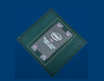 Intel Stratix 10 GX 10M FPGA Packs 10.2 Million Logic Elements