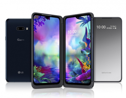 LG G8X THINQ and LG Dual Screen Available For Fun and Productivity