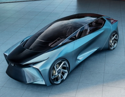 Toyota Showcases the Futuristic Lexus LF-30 Concept