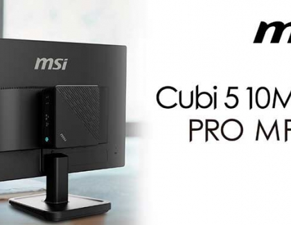 MSI Launches the mini-PC Cubi 5 and the PRO MP221 Monitor