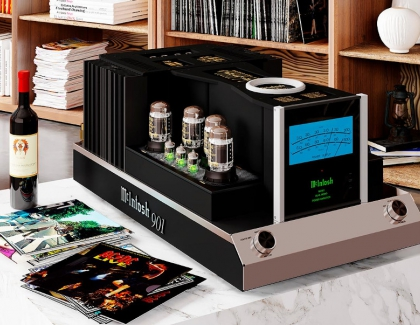 McIntosh MC901 Amplifier Blends Tubes And Transistors