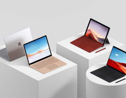 Microsoft Unveils New Surface Lineup Including  Dual-screen Devices, Windows 10X