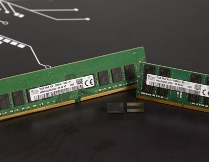 SK hynix Develops 1Znm 16Gb DDR4 DRAM
