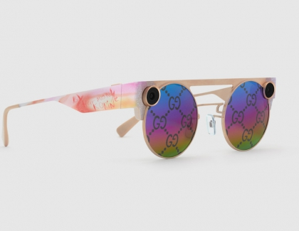 Snap and Gucci Unveil Limited-edition 3D Spectacles