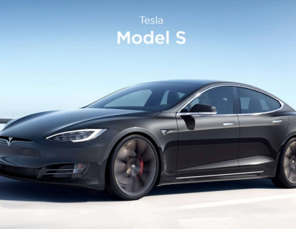 Tesla Tests Model S With a Faster 'Plaid' Powertrain