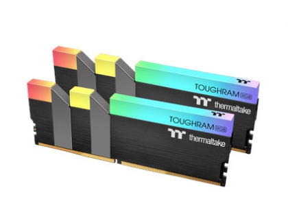 Thermaltake Releases High-Frequency TOUGHRAM RGB DDR4 Memory Kit