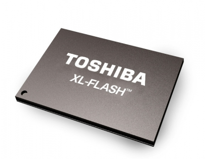 Toshiba's XL-FLASH Storage Class Memory Solution Bridges the Performance Gap Between DRAM and NAND