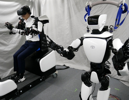Toyota Showcases Improved T-HR3 Humanoid Robot