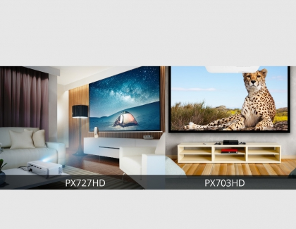 ViewSonic Launches Two New Projectors for Home Theater and Gaming