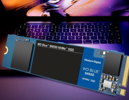 Western Digital Introduces the Blue SN550 NVMe SSD