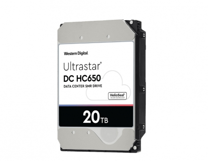 Western Digital Now Sampling 20TB SMR and 18TB CMR Hard Disk Drives