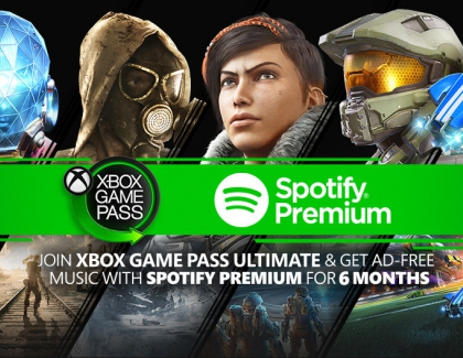 Microsoft Offers New Xbox Game Pass Users Spotify Membership