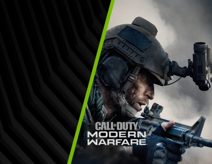 Buy Geforce RTX,  Get Call of Duty: Modern Warfare