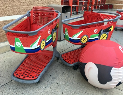 Nintendo Unveils the Mario Shopping Kart Store