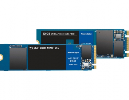 Western Digital Announces the NVMe SSD Successor for WD Blue SN500