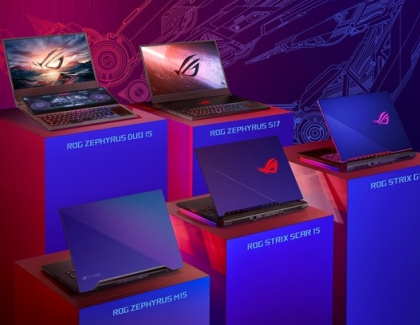 ASUS Republic of Gamers Announces New Gaming Laptop Lineup