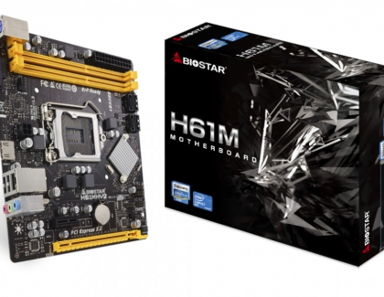BIOSTAR Launches A Reboot of The H61 Series Motherboards