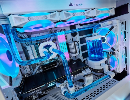 CORSAIR Offers Additional Cooling Components Now in White, Announces RGB Lighting Control for ASUS Aura Sync RGB Motherboards