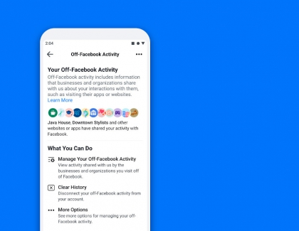 Facebook Makes Off-Facebook Activity Tool Available