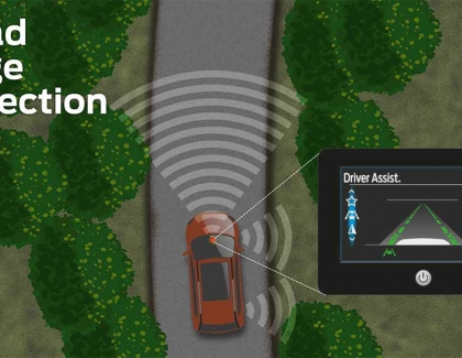Ford Tech Helps Drivers Steer Clear of Ditches and Drops