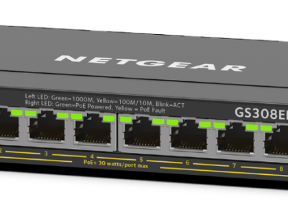 Netgear Debuts new Gigabit Ethernet Plus Switches
