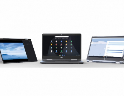Chromebooks May Account 25% of Total Notebook Shipments for The First Time