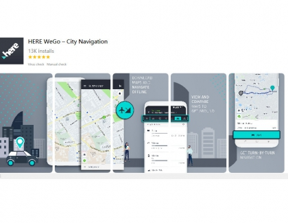 Huawei Offers Google Map Alternative Powered by HERE