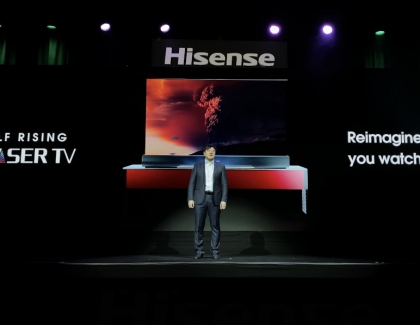 Hisense Released a Self-Rising Laser TV at CES 2020