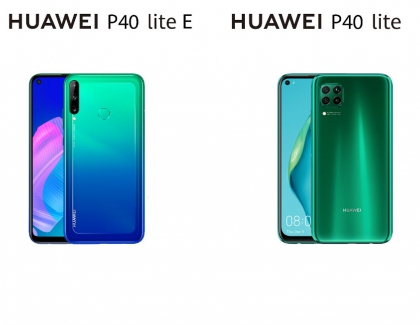 Huawei Unveils the P40 Lite and P40 Lite E in Europe