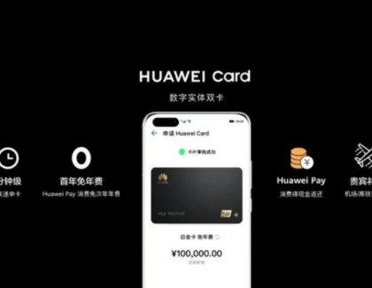 Huawei Releases Its Own Credit Card