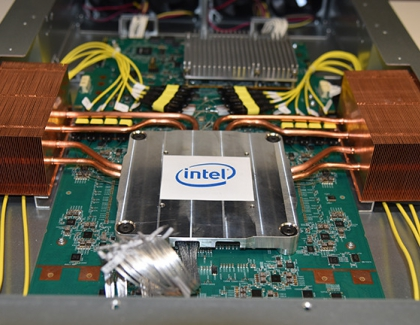 Intel Demonstrates First Co-Packaged Optics Ethernet Switch