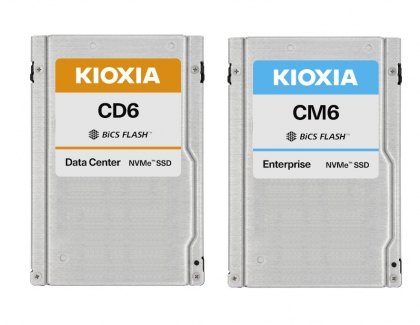 KIOXIA Delivers Enterprise and Data Center PCIe 4.0 U.3 Solid State Drives