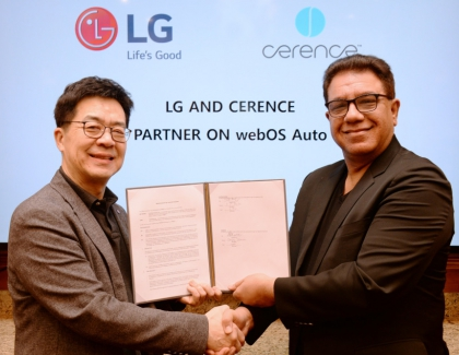 LG Enters MOU With Cerence to Develop Solutions Based on webOS Auto and Cerence ARK