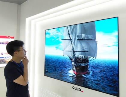 "LG Display's OLED TV Displays Receive ""Low Blue Light Display (OLED)"" Verified Mark from UL"