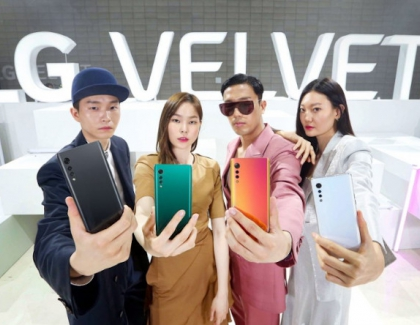 LG Velvet Smartphone Officially Launched in South Korea