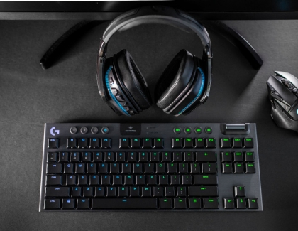 Logitech G Introduces G915 TKL Tenkeyless Gaming Keyboard