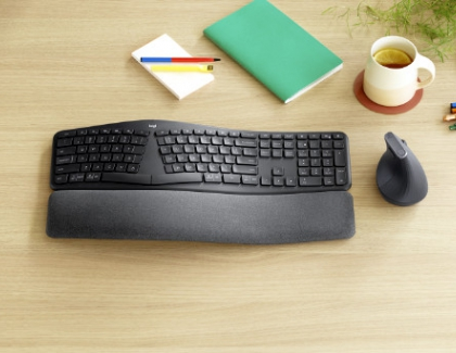 Logitech Introduces The ERGO K860 Ergonomic Split Keyboard