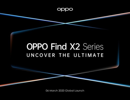 OPPO's Find X2 Pro 5G Flagship to Be Launched at Online Conference