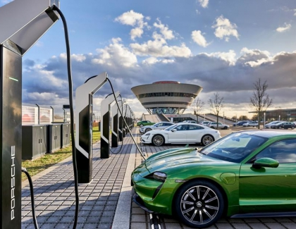 Porsche Opens Europe's Most Powerful Charging Park
