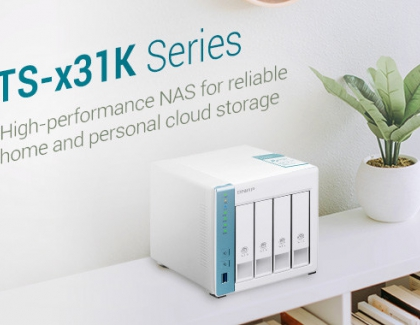 QNAP Launches Quad-core 1.7 GHz NAS for Home and Personal Cloud Storage