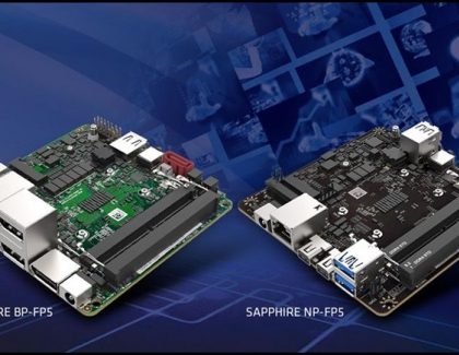 SAPPHIRE Announces New AMD Ryzen Embedded Processor Based Motherboards